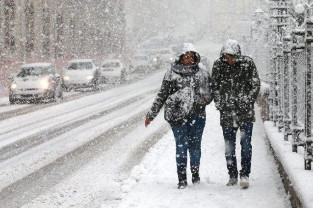 Ondata di neve e gelo in Campania. La Protezione Civile proroga l'allerta