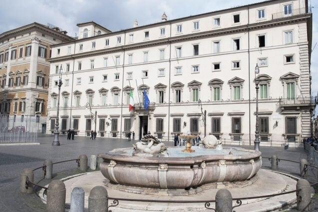 Palazzo Chigi, sede del governo italiano.Fonte: governo.it