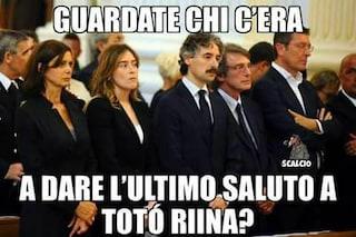 Boschi e Boldrini al funerale di Totò Riina? No, è solamente una bufala