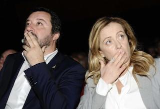 """Meloni difende Salvini: """"L'aborto è sempre una sconfitta per la società, nessun attacco alla 194"""""""
