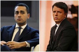 """Reddito e Quota 100, Matteo Renzi: """"Pagheranno gli italiani"""".Luigi Di Maio: """"Legittimo che rosichi"""""""