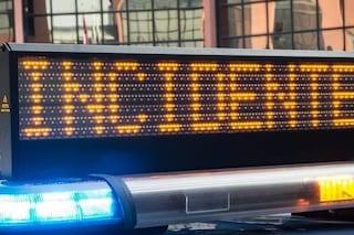 Incidente lungo l'autostrada A4 tra Villesse e Palmanova: coinvolti quattro tir