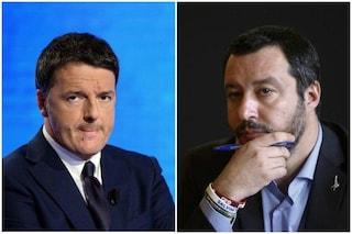 """Duello Renzi-Salvini, l'ex premier: """"Fuorilegge indossare divise forze dell'ordine"""""""