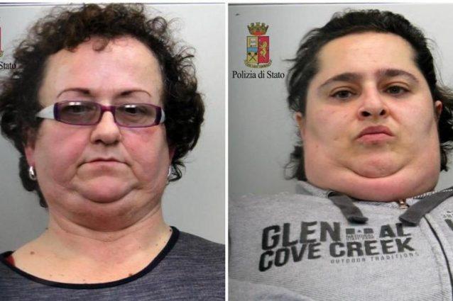 Giuseppa Barresi, 53 anni e Maria Guarino 36 anni.