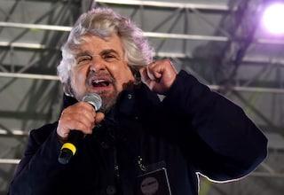 """Beppe Grillo: """"Matteo Salvini non sa di essere ministro dell'Interno, parla solo di migranti"""""""