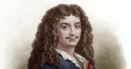 Ritratto di Molière.