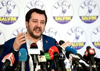 """Salvini: """"Il premier spetta al centrodestra, ma non possiamo governare da soli"""""""
