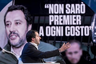 """Salvini: """"Se nessuno fa un passo indietro c'è il 50% di probabilità che si torni al voto"""""""