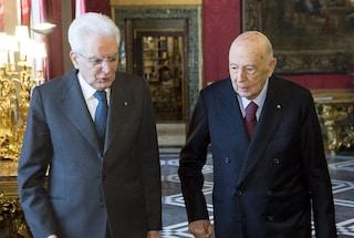 """Di Battista attacca Napolitano, Mattarella lo difende: """"Italiani siano riconoscenti"""""""