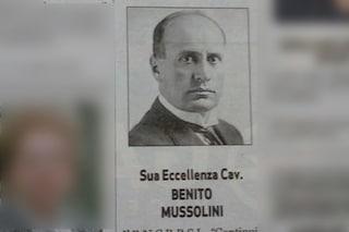 Sul quotidiano spunta necrologio di Mussolini per l'anniversario di morte