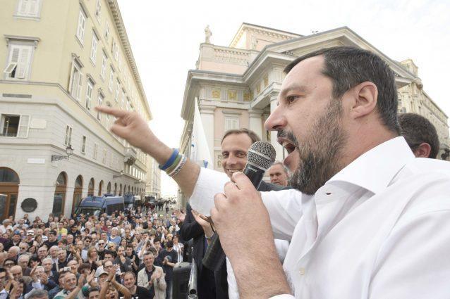 b6f3449a52 Dopo la vittoria del candidato alla presidenza del Friuli Venezia Giulia  Massimiliano Fedriga, che ha ottenuto oltre il 57% delle preferenze, ...