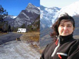Sara e il suo camper.