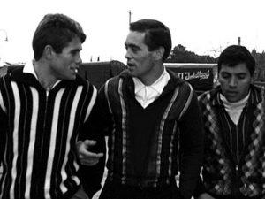 """Una scena del celebre film tratto dal romanzo di Pasolini """"Una vita violenta"""" (1962)."""