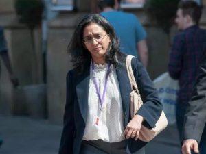 La dottoressa Vaishnavy Laxman