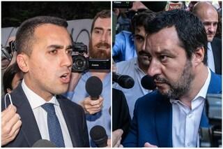 """Salvini: """"Il problema non è Di Maio, che è una persona perbene, ma i continui no dei suoi ministri"""""""