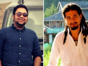 Abhijeet Nath (a sinistra) e Niloptal Das, linciati in India accusati senza prove di aver rapito un bambino (Facebook)