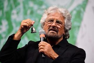 """Tav, Beppe Grillo giustifica il M5s: """"Non avere i voti per fermarla non vuol dire tradire"""""""