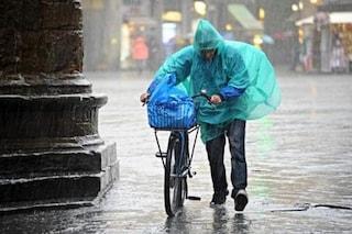 Meteo: da mercoledì pioggia, temporali e pericolo grandine
