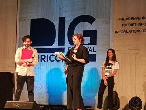 Sacha Biazzo premiato ai DIG Awards 2018.