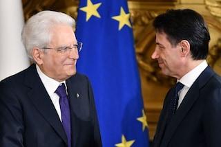 Caos governo, il presidente del Consiglio Conte al Quirinale per un colloquio con Mattarella