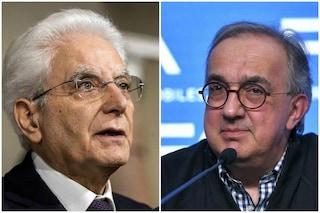 """Morto Sergio Marchionne, Mattarella: """"Ha scritto pagina importante dell'industria italiana"""""""
