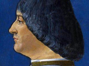 """Ludovico Sforza, detto """"il Moro""""."""