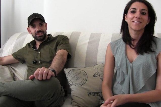 Mirko Figoli e la moglie Valentina Zuppardo