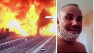 """Esplosione Bologna, il camionista-eroe sopravvissuto: """"Il lupo è ferito ma non è morto"""""""