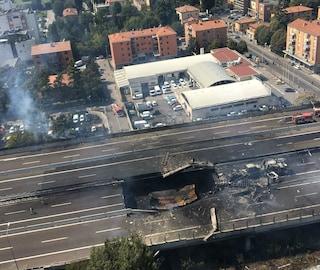 Esplosione A14 Bologna, serviranno fino a 5 mesi per il ripristino dell'autostrada