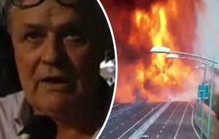 """Esplosione Bologna, distrutto un ristorante. Il titolare: """"Ruota in fiamme ha colpito l'entrata"""""""