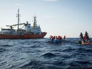 Foto: Sos Mediterranee/Twitter