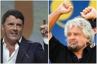 Vaccini, Grillo e Renzi firmano 'patto' di Burioni in difesa della Scienza. No vax contro M5S
