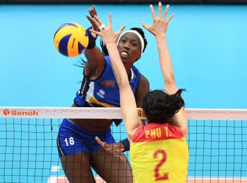 La stella della nazionale è Paola Egonu.