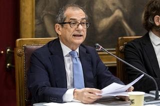 """Manovra, il ministro Tria: """"Spero che l'Italia non vada in recessione"""""""