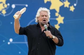 """M5s, Beppe Grillo difende intesa col Pd: """"Sintonia perfetta, lamentarsi di alleanza è debolezza"""""""