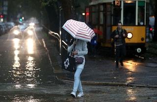 Meteo, vortice ciclonico al Sud: rischio nubifragi in Sicilia e Calabria