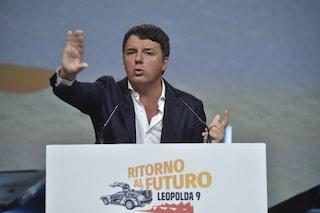 """Matteo Renzi: """"Reddito cittadinanza non è di sinistra, Italia fondata su lavoro e non su sussidi"""""""