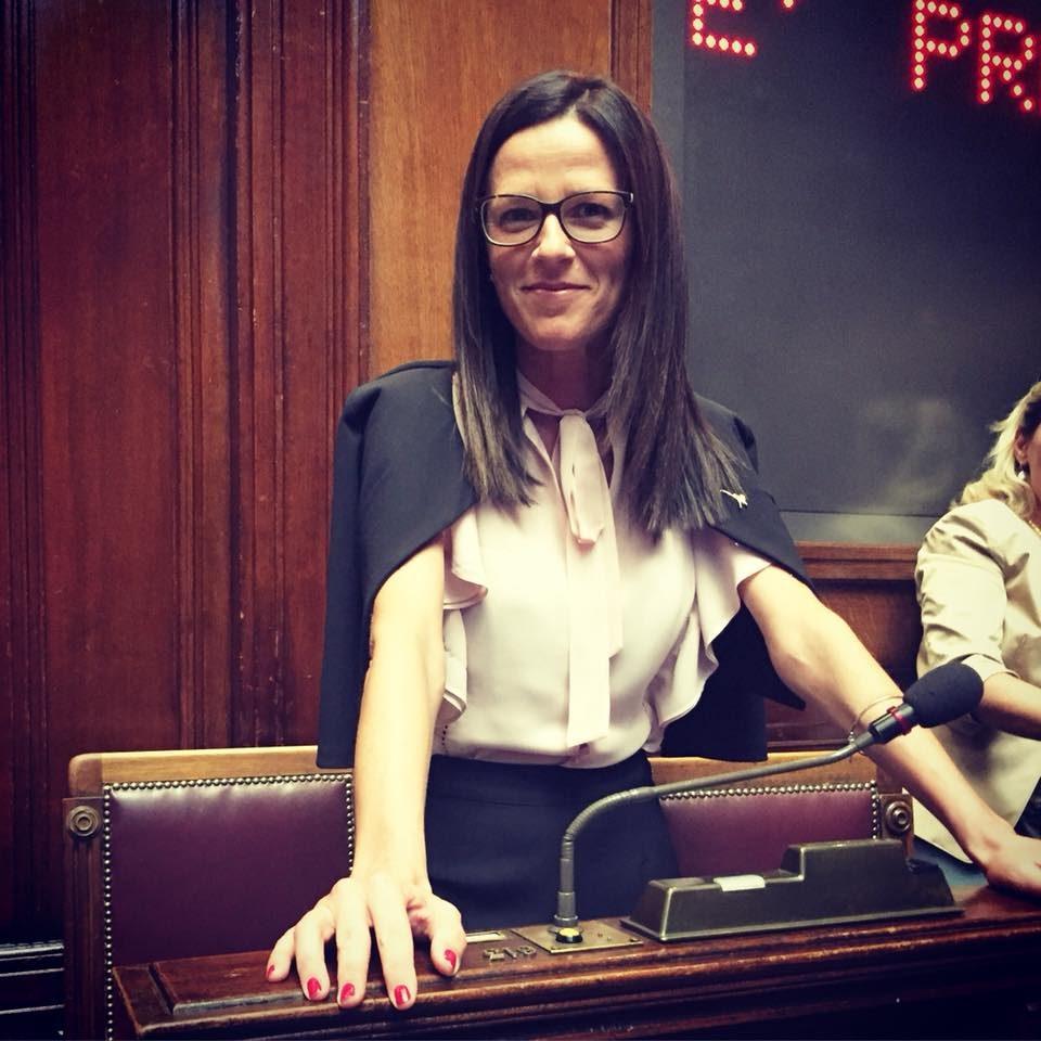 Marica Fantuz, sindaco di Meduna di Livenza, neoeletta alla Camera dei Deputati con la Lega (Marica Fantuz)