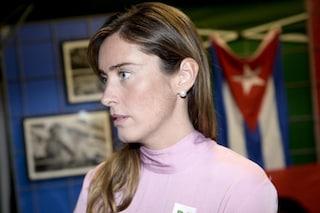 """Maria Elena Boschi risponde a Di Battista: """"Il fascista in famiglia non è solo suo padre, vergogna"""""""