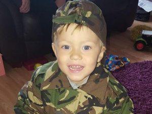 Sheldon Gary Farnell, 4 anni (Facebook).