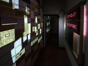 Una delle sale del museo di Pieve Santo Stefano (foto di ©LuigiBurroni, per gentile concessione del Piccolo museo del diario).