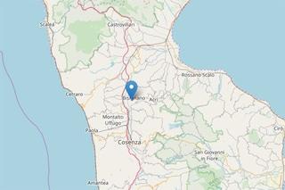 Terremoto, scossa di magnitudo 3.4 in Calabria: avvertita anche a Cosenza