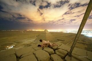 """Si spogliano e """"fanno sesso"""" sulla piramide di Cheope. Due arresti: """"Hanno aiutato la coppia"""""""