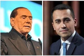 """Di Maio chiude a Berlusconi: """"Forza Italia nel governo? Non ha senso, siamo mondi diversi"""""""