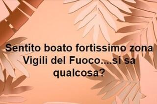 Un boato fortissimo avvertito in Salento: migliaia di segnalazioni su Facebook