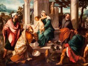 L'Adorazione dei Magi di Paolo Veronese (Museo Diocesano di Milano).