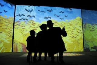 """A Bari """"Van Gogh Alive. The experience"""" la mostra hi-tech riapre il Teatro Margherita dopo 38 anni"""