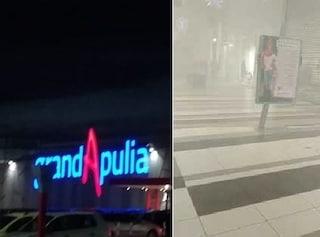 Foggia, rapina al centro commerciale GrandApulia: ladri armati e panico tra i clienti