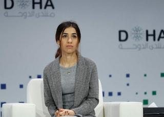 """Il premio Nobel Nadia Murad: """"Mio nipote arruolato nell'Isis, mi ha minacciato di morte"""""""