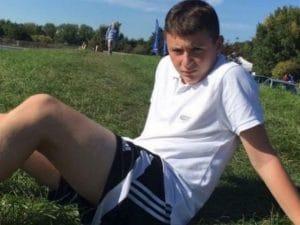 Luca Campanaro, 14 anni.